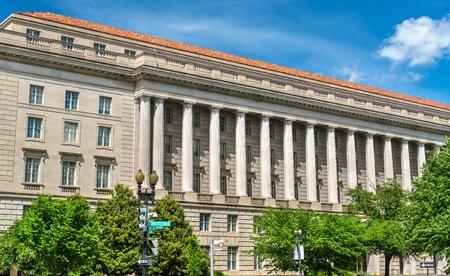 Internal Revenue Service Building in Washington DC, USA