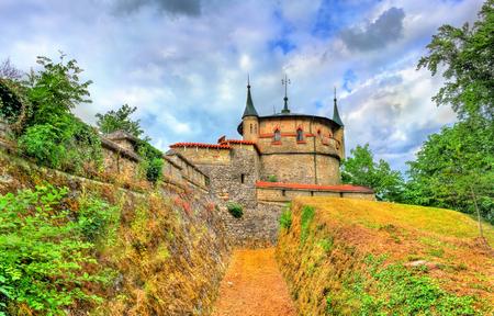 View of Lichtenstein Castle in Baden-Wurttemberg, Germany