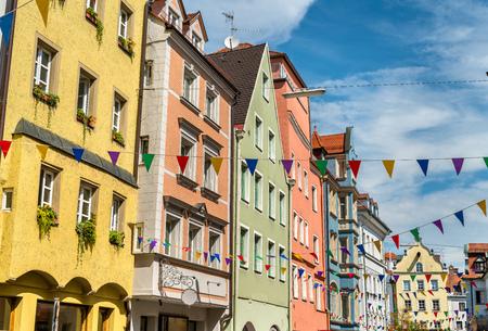 Regensburg, 독일의 구시 가지 건물