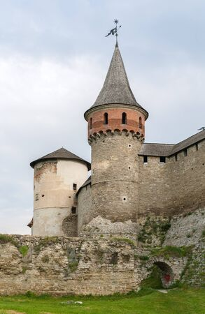 Towers of Kamianets-Podilskyi Castle, Ukraine