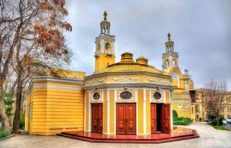 The State Philharmonic Hall in Baku - Azerhbaijan