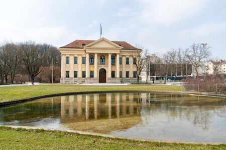 ミュンヘン, ババリア, ドイツのプリンツ カール パレ 写真素材