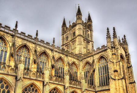The Abbey Church of Saint Peter and Saint Paul in Bath - England