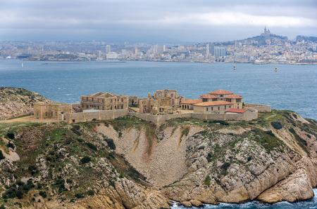 Ziekenhuis Caroline op Ratonneau eiland in Marseille, Frankrijk