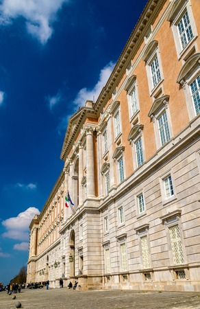 The Palace of Caserta, a former royal residence in Italy