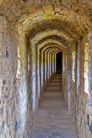 Passage inside the Kamianets-Podilskyi Castle