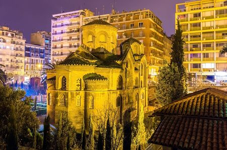 Church of Panagia Chalkeon in Thessaloniki - Greece Stock Photo