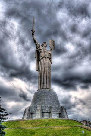 Mother of the Fatherland, Museum of the Great Patriotic War, Kiev, Ukraine
