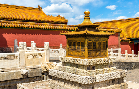 Details of the Forbidden City - Beijing, China Stock Photo
