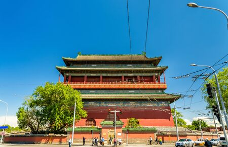 Gulou or Drum Tower in Beijing - China