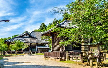 Hokke-do hall of Todai-ji temple in Nara, Japan