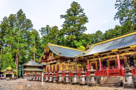Tosho-gu, a Shinto shrine in Nikko, Japan