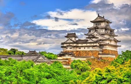 Himeji-kasteel in het Kansai-gebied van Japan