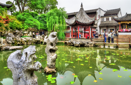 humble: The Lion Grove Garden, a UNESCO heritage site in Suzhou, China