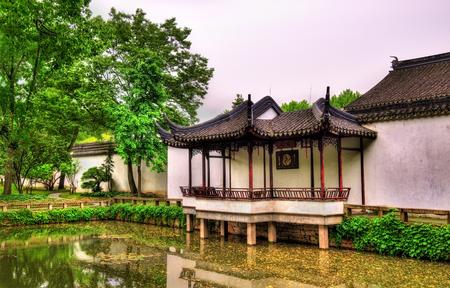 humilde: Humble Administrators Garden, the largest garden in Suzhou, China. UNESCO heritage site.