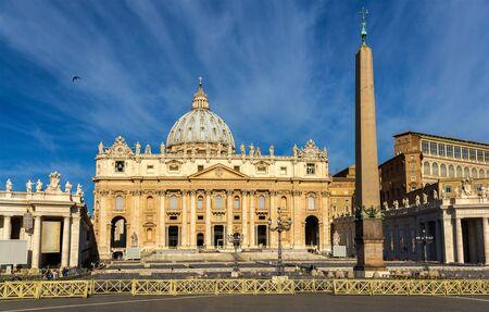 St. Peters Basilica in Vatican City - Rome