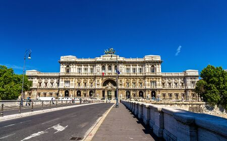 The Palace of Justice in Rome, Italy