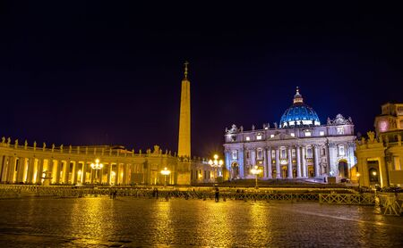 Uitzicht op St. Peter's Square in Vaticaanstad - Rome