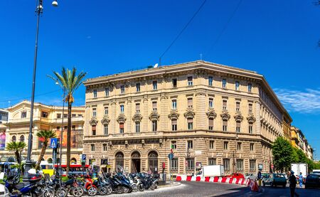 Building on Piazza Cavour in Rome - Italy Stock Photo
