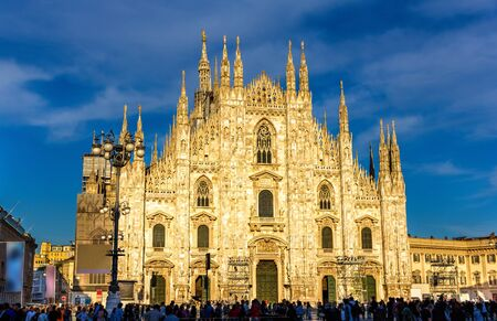 View of the Milan Cathedral - Italy, Lombardy