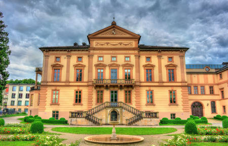 VIew of the State archives in Sigmaringen - Baden-Wurttemberg, Germany. Stock Photo