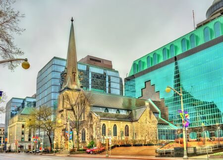 St. Andrew Presbyterian Church in Ottawa - Ontario, Canada Stock Photo