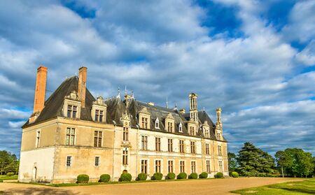 the loire: Chateau de Beauregard, one of the Loire Valley castles in France, the Loir-et-Cher department