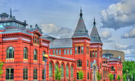 Arts and Industries Building of the Smithsonian museums in Washington, D.C. United States