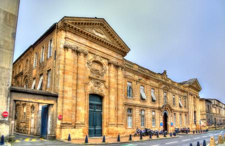Saint Andre Hospital in Bordeaux - France, Aquitaine Stock Photo