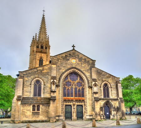 Saint Eulalie church in Bordeaux - France, Gironde