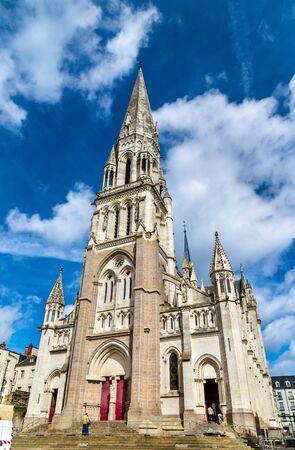 saint nicolas: Basilique Saint Nicolas in Nantes - France, Loire-Atlantique