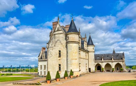 Chateau dAmboise, one of the castles in the Loire Valley - France, Indre-et-Loire department