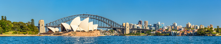 Sydney Opera House and Harbour Bridge - Australia, New South Wales 写真素材