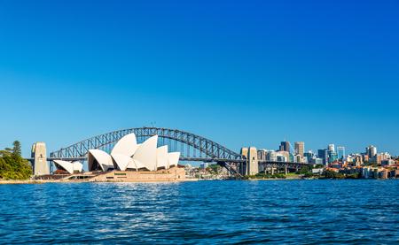 Sydney Opera House and Harbour Bridge - Australia, New South Wales Editoriali