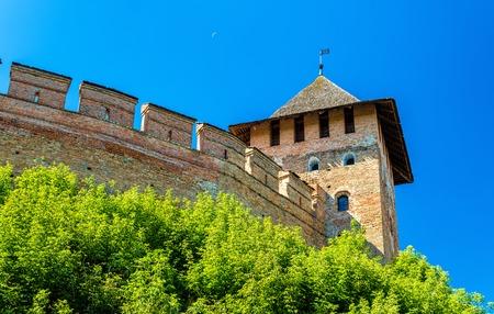 View of Lubart Castle or Lutsk High Castle - Ukraine