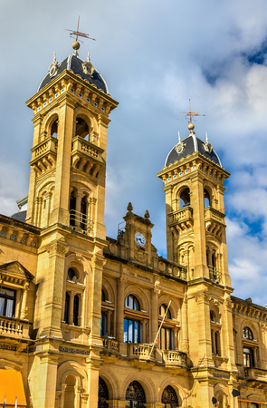 City Hall of San Sebastian-Donostia, Spain - Basque Country