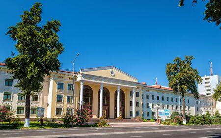 Buildings in the centre of Tashkent, the capital of Uzbekistan