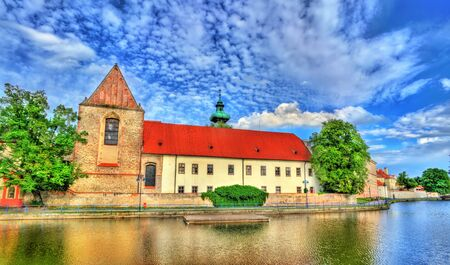 budejovice: Church of the Presentation of the Blessed Virgin Mary in Ceske Budejovice - Czech Republic