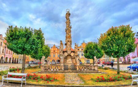 ペスト柱テルチ、チェコ共和国で