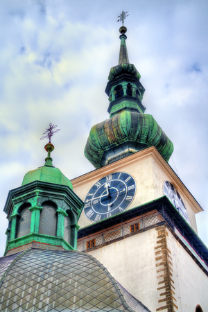 St. Martin church in Trebic, Czech Republic