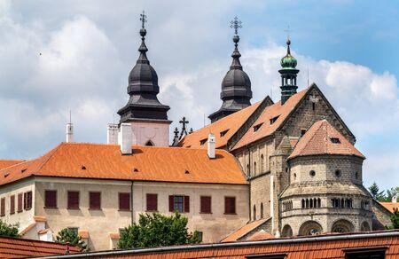 St. Procopius Basilica in Trebic, Czech Republic