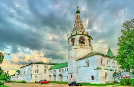 View of the Kremlin in Suzdal, a UNESCO heritage site in Russia Stock Photo