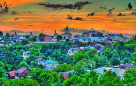 Skyline of Vladimir city in Russia