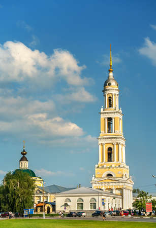 Bell tower of John the Apostle Church in Kolomna, Russia Stock Photo