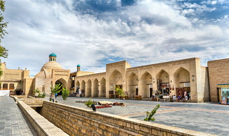 Ancient buildings in the old town of Bukhara, Uzbekistan