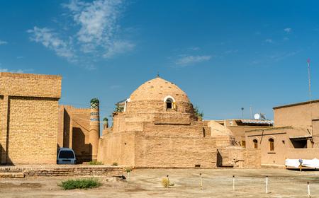 Sayid Allauddin Mausoleum at Itchan Kala, the walled inner town of the city of Khiva, Uzbekistan Stock Photo