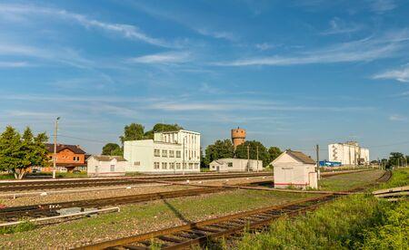 Dmitriyev-Lgovsky, a railway station in Kursk Region of Russia