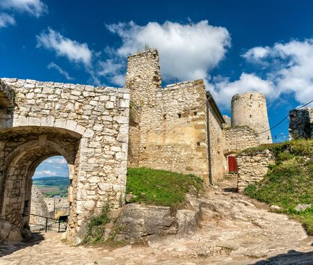 Spis Castle, in Slovakia Stock Photo