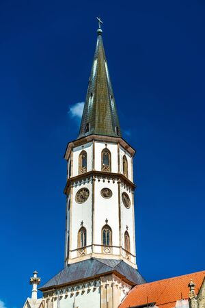 Basilica of St. James in Levoca, Slovakia Stock Photo