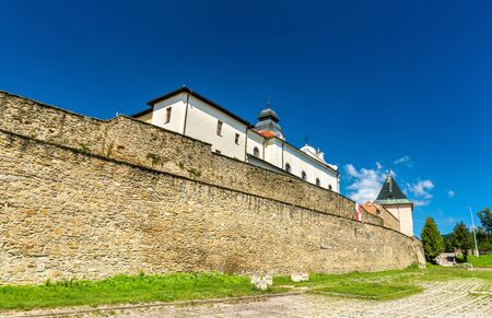 Dfencsive wall surrounding the old town of Levoca in Slovakia